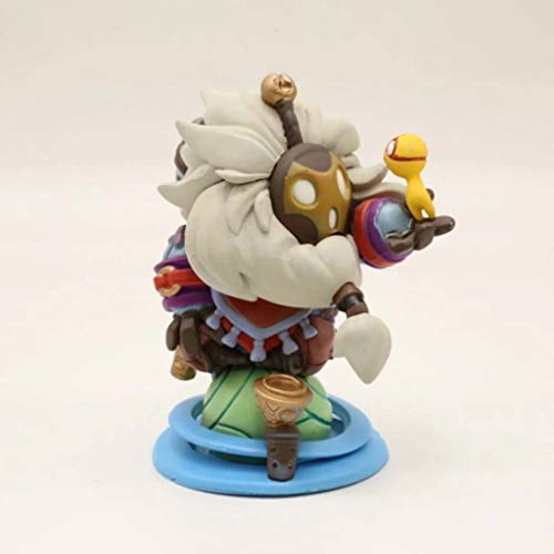 CQ LOL Figur - Das wandernde Caretaker Bard-Abbildung PVC-Modell-Geschenk-Spielzeug for LOL Fans 10cm Toys