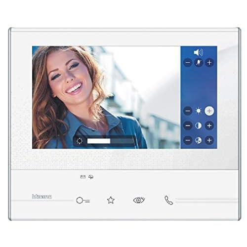 BTicino 344612 Videocitofono Classe 300 V13E senza WiFi, Bianco