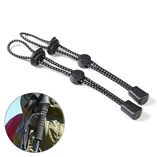 4 verstellbare Rucksack-Wanderstöcke zur Befestigung von Schnallen, Seil, Umhängeband, Wanderstöcke, Alpenstock, Trageband