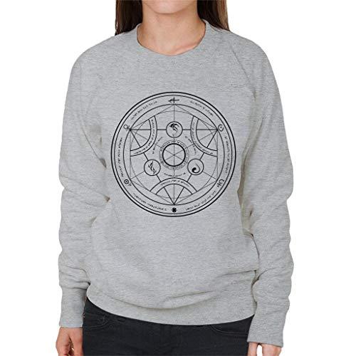 Valyrian Fire Alchemy Black Game of Thrones Women's Sweatshirt