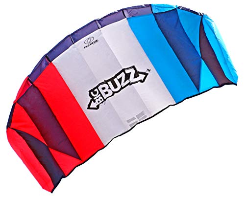 commercial FLEXIFOIL 2.05m Power Kite, Big Buzz Sports Foil – Safety, reliability, durability, family power… power kites
