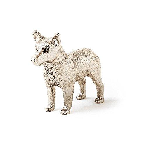 Australian Cattle Dog Made in UK, Collezione Statuetta Artistici Stile Cani