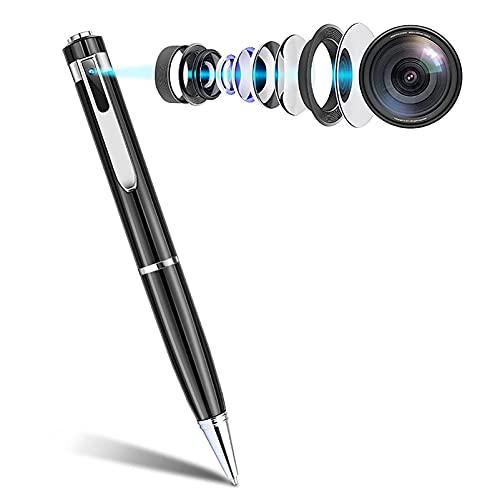 Mini Pluma De Cámara Oculta,32GB Completo HD 1080P Cámara De Bolsillo Portátil De Bolsillo Micro Digital Cam De Cámara Grabadora De Video De La Cámara Para El Estudio De La Conferencia ( Color : B )