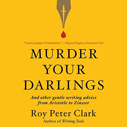Murder Your Darlings audiobook cover art