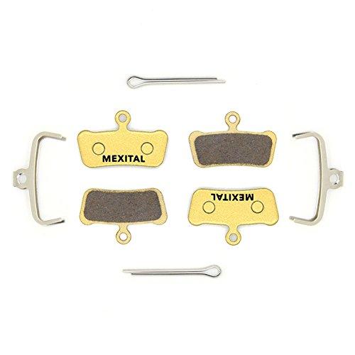 MEXITAL 2 Pares Pastillas Freno Disco sinterizado para Avid E7 Trail E9...