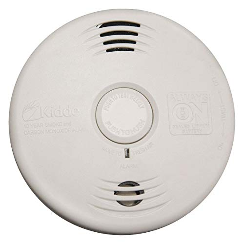 Kidde P3010CU Photoelectric Smoke & Carbon Monoxide Alarm with Voice Warning System (4) White