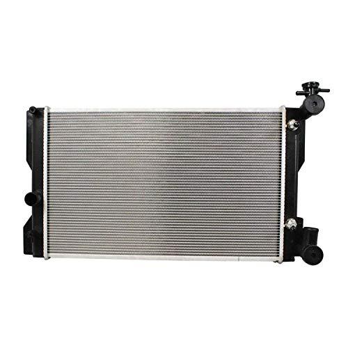 Klimoto Radiator | fits Toyota Corolla 2009-2011 Matrix 2009-2013 Vibe 2009-2010 2.4L L4 | Replaces TO3010324 164100H260 164100H261
