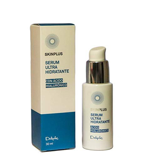 Deliplus Serum Facial Ultra Hidratante con Ácido Hialurónico y Ceramidas, 30 ml