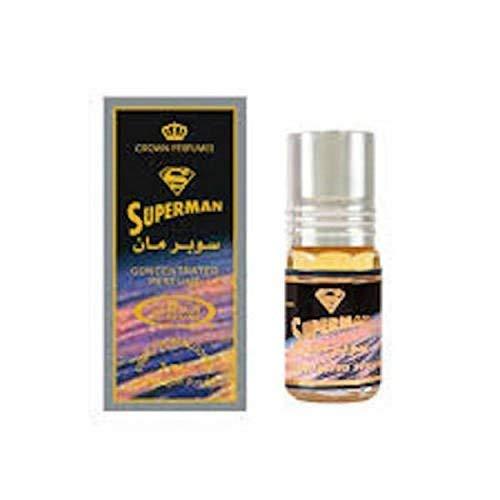 Business Square Musc Parfum Al Rehab Superman 3ml 100% Huile