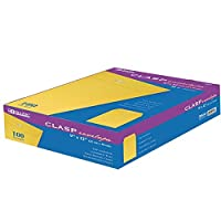 "Clasp封筒、28lb。、9"" x12インチ、100/ BX、ブラウン、クラフトSold As 1ボックス"