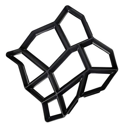Cabilock 2 Stück Betonpflaster Steinform Patio Weg Pflaster Gehweg Schimmel Zement Schimmel Einfahrt Pflaster Schrittmacher