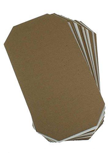 Glorex Ersatz-Presseinlagen für Pflanzenpresse 1 Satz, Verschiedenes, Mehrfarbig, 17.5 x 30 x 3 cm
