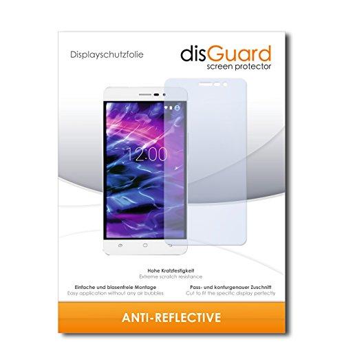 disGuard Bildschirmschutzfolie für Medion S5504 [2 Stück] Anti-Reflex, MATT, Entspiegelnd, Extrem Kratzfest, Anti-Fingerabdruck - Bildschirmschutz, Schutzfolie, Panzerfolie