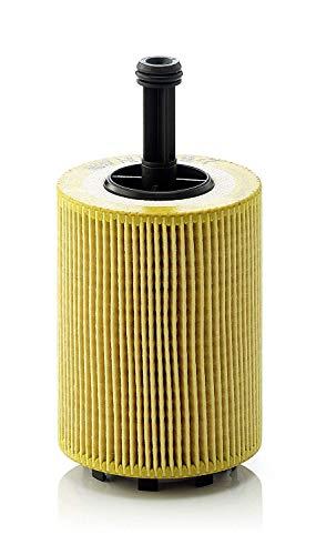 MANN-FILTER HU 719/7 X Original Filtro de Aceite, Para automóviles y vehículos de utilidad, Amarillo, 36