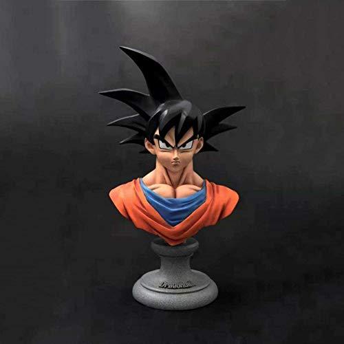 Dragon Ball Anime Statue Wukong Resin Half Length Figurine Exquisite Anime Decor Family Decoration