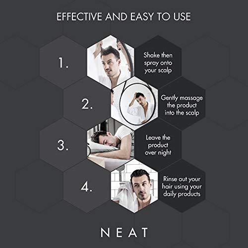 Neat Anti Dandruff Treatment & Itchy Scalp Treatment - Dry Scalp Treatments for Hydrated & Nourished Hair - Alternative to Anti Dandruff Shampoo & Psoriasis Scalp Treatment - 100 ml