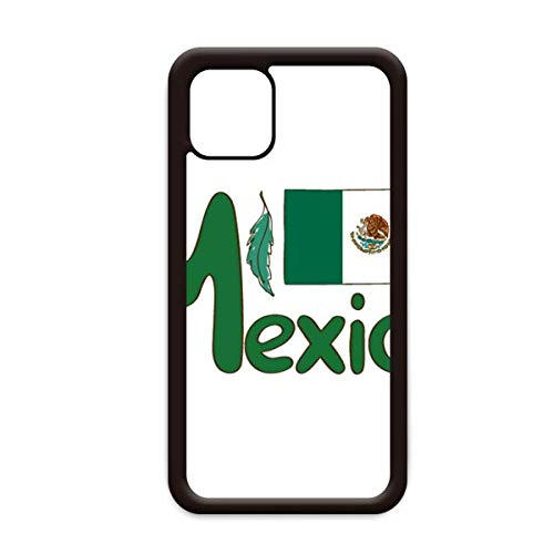 Mexico Nationale Vlag Groen Patroon voor Apple iPhone 11 Pro Max Cover Apple mobiele telefoonhoesje Shell, for iPhone11 Pro