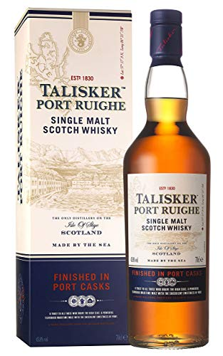 Talisker Port Ruighe Single Malt Scotch Whisky (1 x 0.7 l)