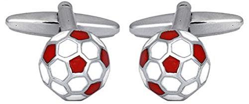 DLC England Fußball Manschettenknöpfe rhodiniert