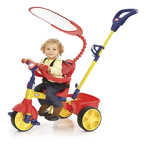 Little Tikes 9061827 Passeggino e Triciclo con Timone