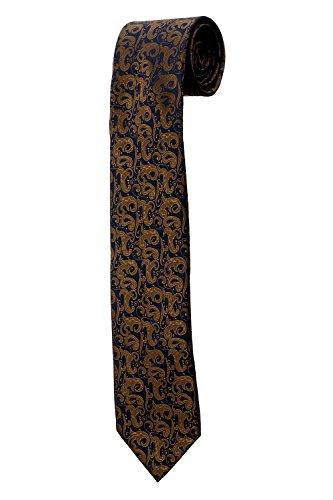 Cravate bleue à motif bandana paisley DESIGN costume homme mariage cérémonie