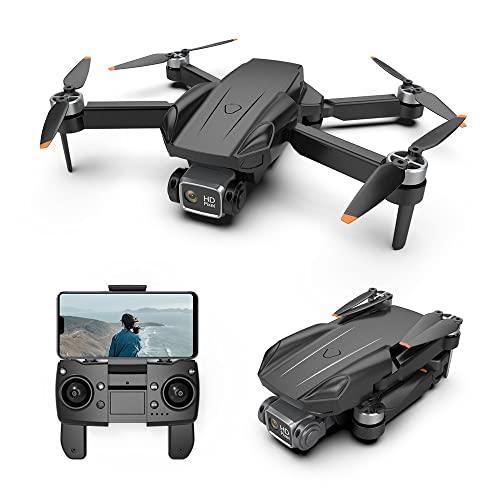 YINHA GPS Drone con Fotocamera 4K, GPS+. Posizionamento del Flusso Ottico, 2 Batterie 50 Minuti Tempo di Volo, 5g WiFi FPV. Video, Livello 7 Resistenza al Vento, for Gli Adulti Principianti