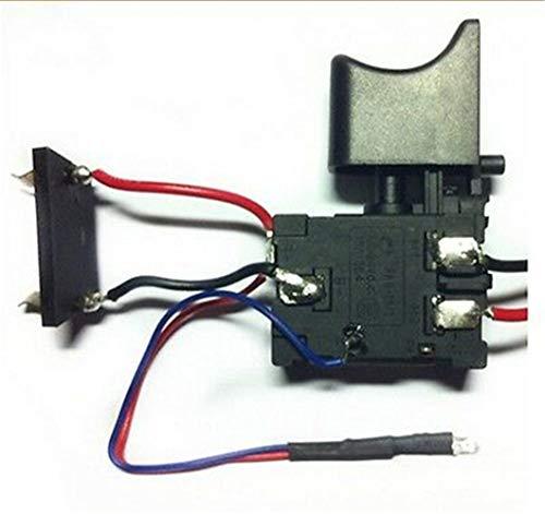 Interruptor de taladro eléctrico de 16A DC Interruptor de control de velocidad a prueba de polvo FA8-16/1