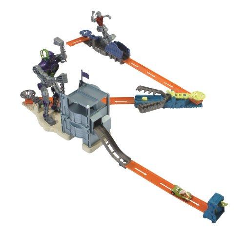 Mattel T2293-0 - Hot Wheels Trick Tracks Bionic Battle