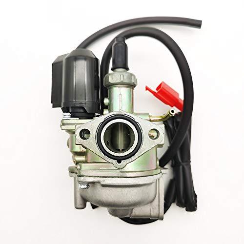 RUIXINLI Carburador carbohidrato Compatible con Honda DIO 50 Bali X8R SFX 50 SGX 50 Sky SH 50 Scoopy SJ Bali SXR 50 mm Reemplazo del carburador