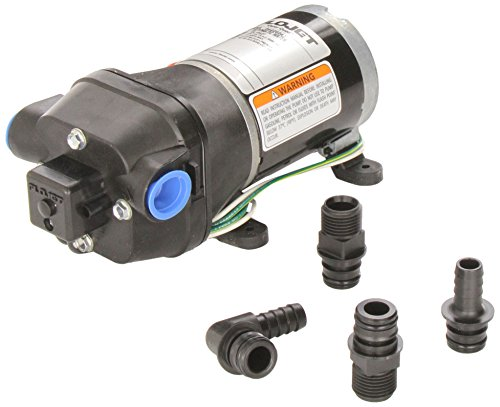 Flojet 04406043A 3.3 GPM 35 PSI 115V Quiet Quad Water Pump System