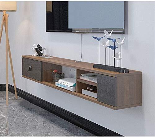 csd Estante flotante Montaje de pared TV Cabinete TV Soporte TV Unit...