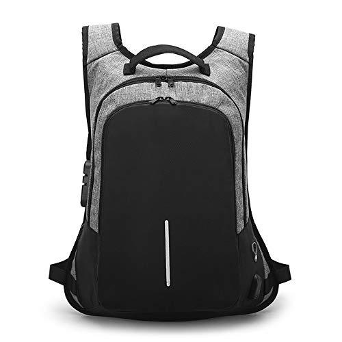 Zaino zaino da trekking zaino da uomo multifunzione ricarica USB 15.6 pollici zaini laptop per adolescenti moda maschile Mochila zaino da viaggio anti ladro