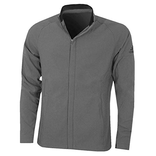 adidas Herren Softshell Jacket Trainingsjacke, grau, M