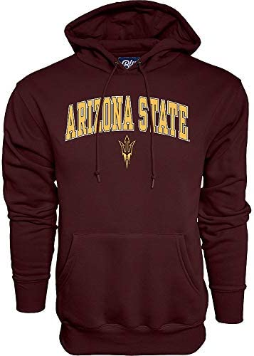 Elite Fan Shop Arizona State Sun Devils Hooded Sweatshirt Varsity Maroon Medium product image