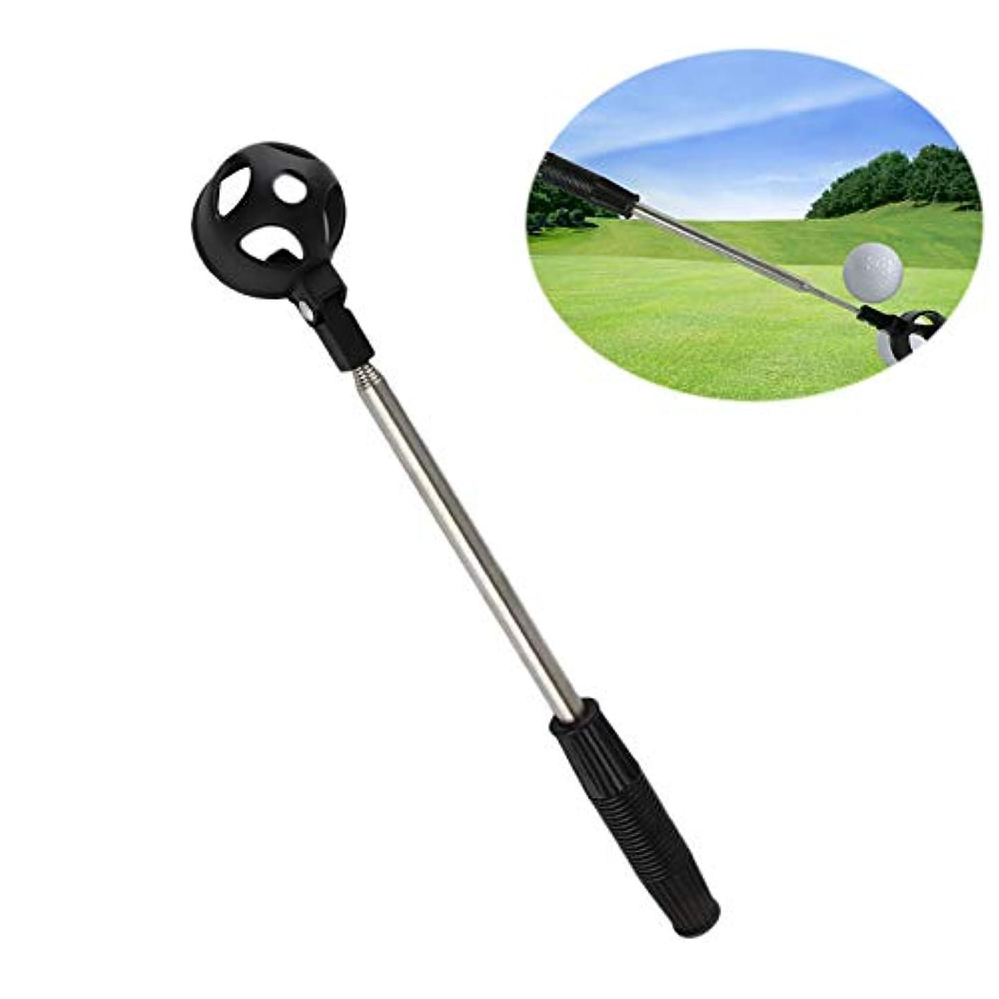 差蓮アルネYUNAWU 格納式スクープ 伸縮式 ゴルフボール レトリバー ピックアップ スチールセーバー シャフト パターツール