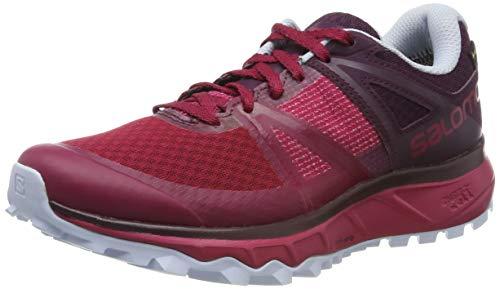Salomon Trailster GTX W, Zapatillas de Trail Running Mujer, Rosa (Cerise/Potent Purple/Heather),...