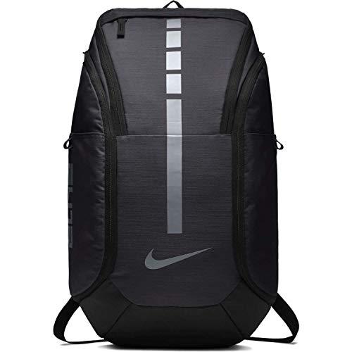 Nike Unisex Hoops Elite Pro Basketball Backpack (Dark Grey Metallic Cool Grey)
