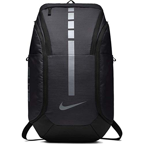 Nike Unisex Hoops Elite Pro Basketball Backpack (Dark Grey/Metallic Cool Grey)