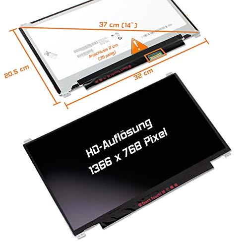 "Laptiptop Toshiba Satellite C40-C-10Q LED Display Screen 14,0\"" Glossy 1366x768 WXGA HD Panel Bildschirm"