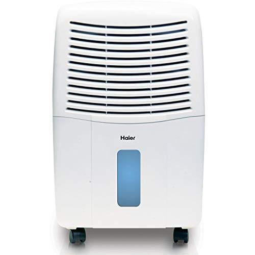 Haier 45 Pint Energy Star Electronic Control Dehumidifier (Renewed)