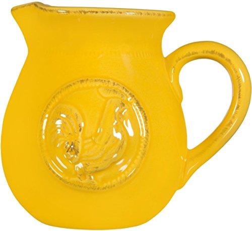 yellow ceramic jars - 2