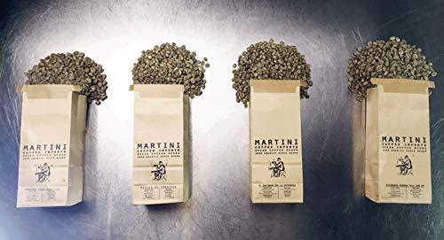Unroasted Green Coffee Beans - Central America Sampler Pack - 4LBS - 100% Raw Arabica Coffee Beans - NICARAGUA, HONDURAS, COSTA RICA, EL SALVADOR