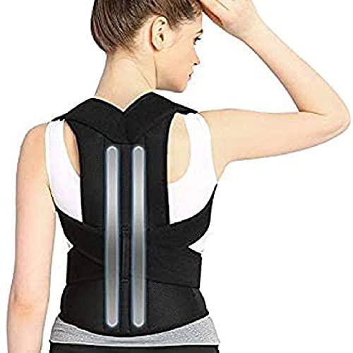 Barra de aleación Corrector de postura Escoliosis Soporte de espalda Corsé de columna Soporte de terapia de hombro Cinturón de corrección de postura Espalda ortopédica