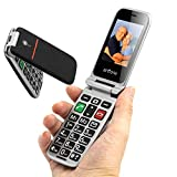 artfone Big Button Mobile Phone for Elderly, Senior Flip Mobile Phone Clam Dual