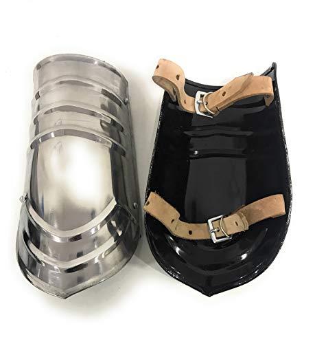 Nautical-Mart LARP Armor Steel Bracers Arm Guard Protection Armour Knight Costume