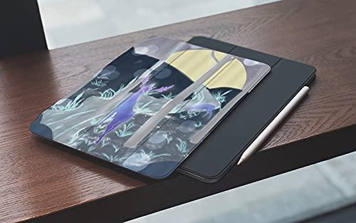 Funda para iPad 10.2 Pulgadas,2019/2020 Modelo, 7ª / 8ª generación,Cuento de hadas Bosque Arte Naturaleza Ilustración Elk Roaming Carretera curva Resum Smart Leather Stand Cover with Auto Wake/Sleep