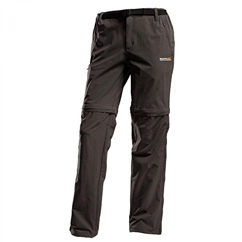 Regatta Xert II Stretch Zip of Trousers Regular Herren Black Größe 46 2019 Hose