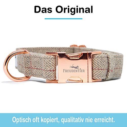 Freudentier Hundeleine (2m) + Hundehalsband im Set | Außergewöhnlich Elegant & Verstellbar - 2