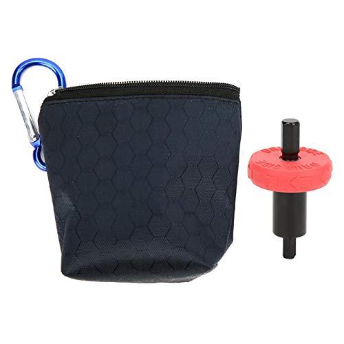Kuuleyn Engine Starter Adapter, Electric Start Bit Red Black CRV Plastic Engine Starter Adapter Parts with Package Bag