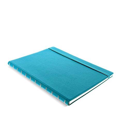 Filofax A4 Notizbuch, nachfüllbar, blau